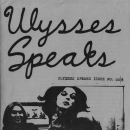 Ulysses speaks — Fanzinoteca